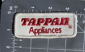 Vintage Tappan Appliances Logo Patch Eclipse Stove Ohio Valley Foundry Company