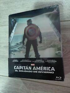 Captain america steelbook