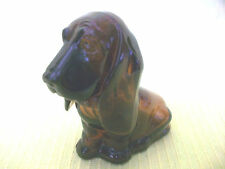 AVON BABY BASSETT HOUND BOTTLE PUPPY DOG FIGURINE GLASS NICK KNACK COLLECTIBLE