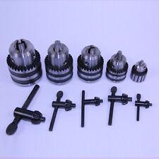 5 Pc Heavy Duty Drill Chuck & Key Set 6mm 3/8 1/2 5/8 3/4 Keyed JT