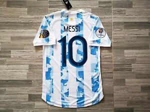 ARGENTINA 2021 Home LIONEL MESSI 10 HEAT.RDY MATCH DAY Jersey COPA AMERICA Shirt