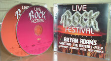 LIVE ROCK FESTIVAL   RUSH, DEEP PURPLE; PULP;  FREE, DOROI; SAGA, uva. (2 CDs)