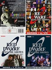 RED DWARF (1988-1999) 1-8: JUST THE SHOWS Complete TV Seasons Series NEW DVD UK
