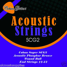 Coban Electro Acoustic PHOSPHORUS BRONZE GUITAR strings wound ball 12-52 SCG2