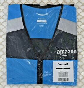 Amazon DSP Flex Delivery Driver Reflective Safety Vest Unisex Size XS / S *NEW!!