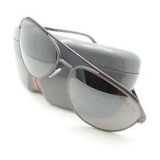 adfb4c86cc Prada Linea Rossa Sport SPS 55R DG1-5K0 Matte Gun Black Mirror Sunglasses
