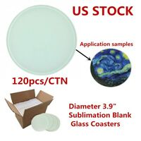 10 PCS Round Sublimation Coaster Blanks Cup Mat Sublimation Rubber Coasters Sublimation Blank Heat Transfer Cup Mat 20x20x0.3CM