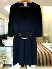 Milly Of New York Azul Marino Vestido Con Detalle De Cadena Talla M