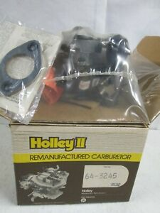 Holley Reman 64-3245 Carburetor 1 Bbl MotorCraft Ford/Merc 6 Cyl. 1980-81