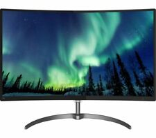 "BRAND NEW PHILIPS 278E8QJAB/00 27"" FULL HD LED ULTRA CURVED MONITOR BLACK"