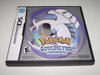Pokemon Soul Silver Soulsilver Version Nintendo DS 3DS Game *Manual* US #2