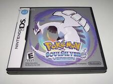 Pokemon Soul Silver Soulsilver Version Nintendo DS 3DS Game *Manual* US #2