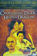 New listing Ang Lee's Crouching Tiger Hidden Dragon (2000) Chow Yun Fat Michelle Yeoh Sealed