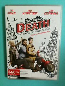 Bored To Death The Complete Third Season DVD 2-Disc Set Ted Danson R4 VGC