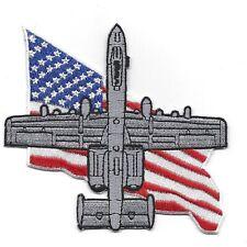 USAF A-10 Thunderbolt II Flag Patch