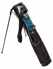 Deluxe Sunday Golf Bag with Stand Play 9 Hole Lightweight Carry Driving Range