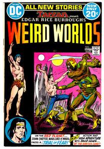 TARZAN Presents WEIRD WORLDS #1 in VF+ 1972 DC Comic by Burroughs w/ JOHN CARTER