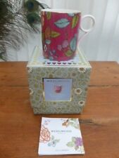 WEDGWOOD  TEA GARDEN RASPBERRY MUG FIRST QUALITY BRAND NEW UNUSED BOXED