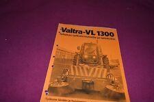 Valmet Valtra VL1300 Tractor Dealer's Brochure DCPA2