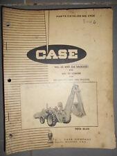 Case tractopelle chargeur backhoe 32 - 32S sur 530 : catalogue de pièces C908