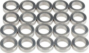 Wheels Manufacturing 3.0mm Aluminum Chainring Spacer Bag of 20 Adjusts Chainline