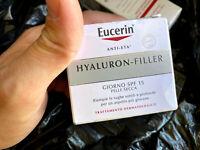 EXP 05/19 Eucerin Hyaluron-Filler SPF15 Anti-Age Moisturizer Wrinkles Day Cream
