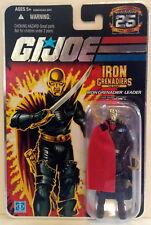 G.I.JOE 25th ANNIVERSARY: DESTRO - IRON GRENADIERS LEADER - FOIL CARD NON-MINT