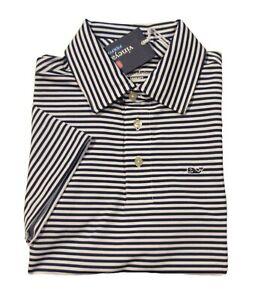 Vineyard Vines Performance Boys Deep Bay Blue Windstead Sankaty S/S Polo Shirt