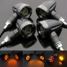 Universal Motorcycle LED Amber Lamp Rear Turn Signal Brake Light Indicator Hot