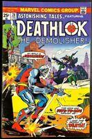 Astonishing Tales #28 (1975, Marvel Comics) Ft. Deathlok The Demolisher FN/VF
