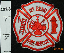"MISSOURI, IVY BEND FIRE RESCUE 3"" PATCH"