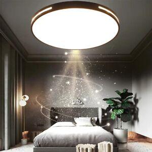 LED Bad Deckenleuchte Rund Badezimmer Deckenlampe 30-50CM Flach IP65 Küche Flur
