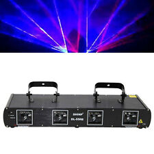 Shinp 4 Lens Blue + Red DMX512 Laser Garden Light DJ Party KTV 900mW DL55-RB
