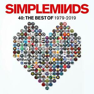 Simple Minds - 40: The Best Of 1979-2019 [CD]