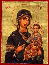 #31667 Greece. Madonna. Icon on canvas.