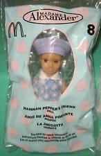 """McDonald's Madame Alexander 5"""" Doll #8 Hannah Pepper's Friend 2003 MIP New"""