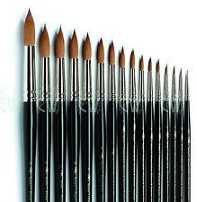 Winsor & Newton Series 7 Kolinsky Sable Artists Single Brushes.Watercolour Paint