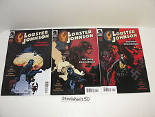 Lobster Johnson Iron Prometheus #3 4 5 Comic Book Lot Dark Horse 2007 Mignola