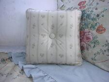 New Custom Ralph Lauren Villandry Floral Stripe Throw Pillow 1 Button