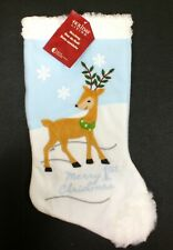 "19/"" Christmas Stocking Holiday Cap Santa Hat University of Wisconsin BADGERS NEW"