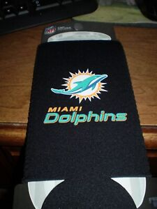 Miami Dolphins   24 ounce  KOOZIE  HOLDER Holds Big Cans or Soda Bottle