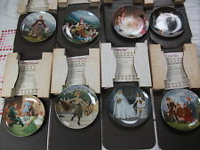 BRADFORD EXCHANGE 8 PLATE SET - THE SOUND OF MUSIC - EDWIN M KNOWLES CHINA