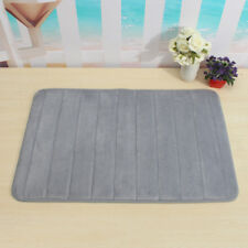 Memory Foam Mat Absorbent Aniti Slip Pad Bathroom Shower Bath Carpets Area Rug