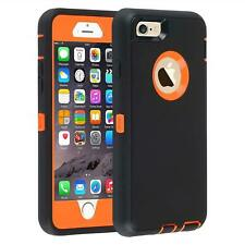 Slim Heavy Duty Rugged Builders Shockproof Military Case Cover For Apple iPhone