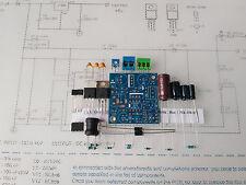 KIT Nixie Power supply DC 85-220V/5V LED N.V. PSB blue mask for tubes IN8,14,18