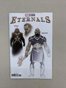 Eternals #2 1:10 Esad Ribic Design Variant Marvel 2021