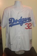 Sandy Koufax Los Angeles Dodgers 1955 Mitchell and Ness Retro Jersey L