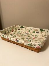 Hostess Serving Tray Liner from Longaberger Botanical Fields Fabric