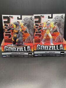 "Godzilla Playmates 6.5"" Jet Jaguar & Godzilla 1995 Figures Bundle - New"