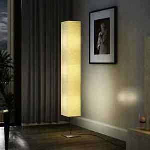 vidaXL Stehlampe 170cm 40W Papierlampe Standleuchte Leselampe Papierleuchte